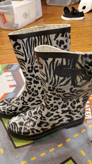 Leopard rain boots for Sale in Perryville, MD