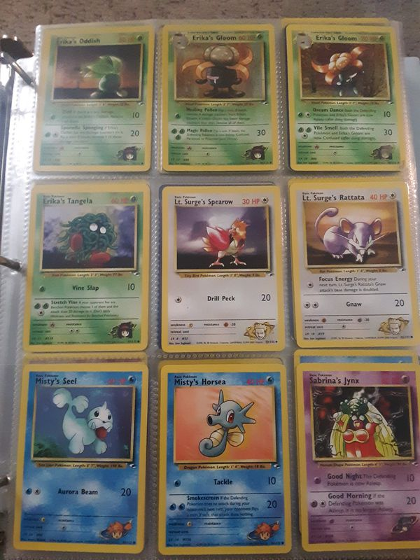Pokemon Cards 1999 through current