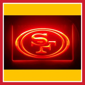 """🏈NEW 3D 49ERS. RAIDERS (+ MORE) 8X12"""" SUPER BRIGHT LED SIGN🏈MAN CAVE. BAR. SIGN. NIGHT LIGHT 🏈 for Sale in Ontario, CA"""