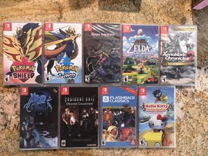 Nintendo switch games for Sale in Ontario, CA