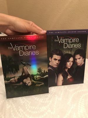 The Vampire Diaries: Complete Seasons 1 & 2 for Sale in Modesto, CA
