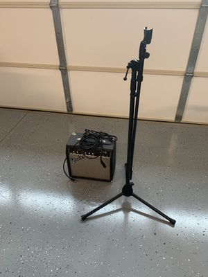 Amp and mic stand for Sale in Murfreesboro, TN