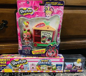 NEW Shopkins Bundle! for Sale in Round Rock, TX