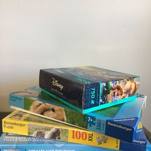 NEW Puzzles (Disney, Horse, Rabbit, Dolphins) for Sale in Falls Church, VA
