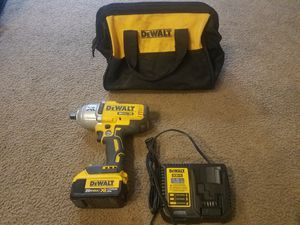 DEWALT XR 20-volt Max 1/2-in Drive Brushless Cordless Impact Wrench (1-Battery Included) Item #672795Model #DCF899M1 for Sale in Avondale, AZ