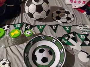Soccer Party Supplies. Futbol. for Sale in South Gate, CA