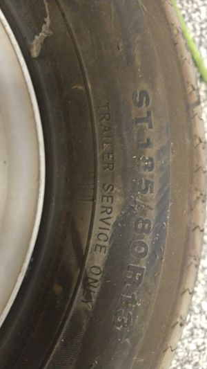 Ironman trailer tire and wheel x2 for Sale in Gilbert, AZ