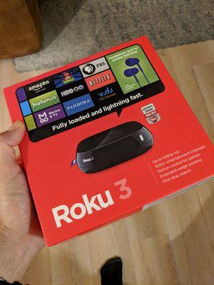 Roku 3 TV for Sale in Los Angeles, CA