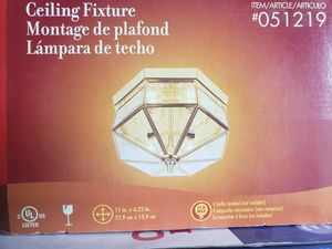 Light fixture new in box for Sale in Lodi, CA
