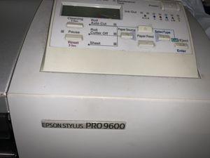 Free Epson stylus pro 9600 printer for Sale in Chula Vista, CA