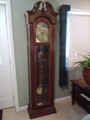 PEAL CLOCKS grandfather clock .with papers for Sale in Wayland, MI