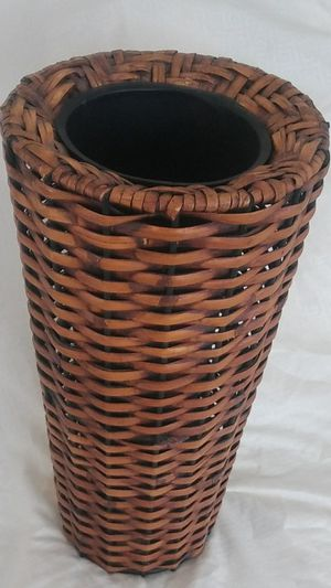 "Nice wicker decor. 12"" tall for Sale in Indianapolis, IN"