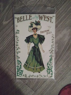 Antique coca-cola & pepsi-cola trays and paper doll for Sale in Mesa, AZ