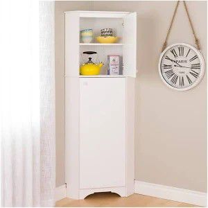Corner Pantry cabinet - white for Sale in Columbus, OH