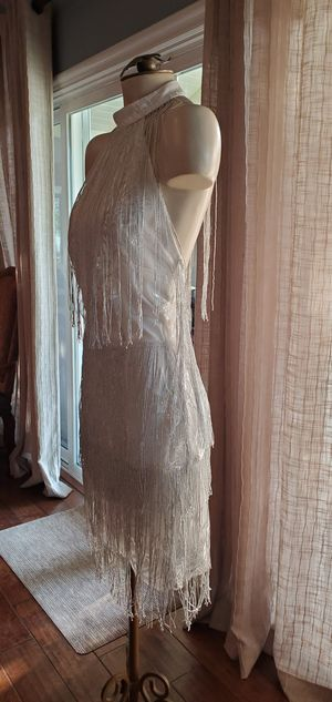 White flapper dress for Sale in Thousand Oaks, CA