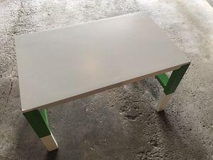 Kids desk IKEA pahl white/green for Sale in Palos Hills, IL