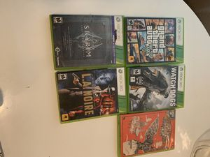XBoX 360 games $5.00 each for Sale in McCloud, CA