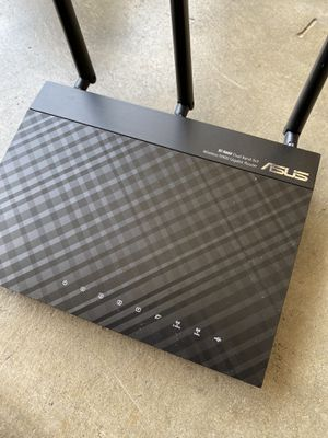 Asus RT-N66U dual band router for Sale in San Mateo, CA