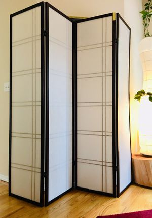 4 panel room divider for Sale in Lynnwood, WA
