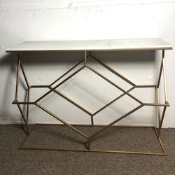 Marble Table With Gold Frame for Sale in Tigard,  OR