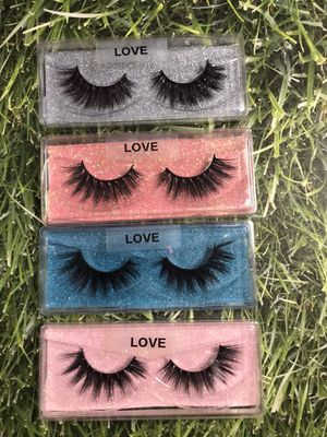 4for $15 eyelashes 3D mink. for Sale in Victorville, CA