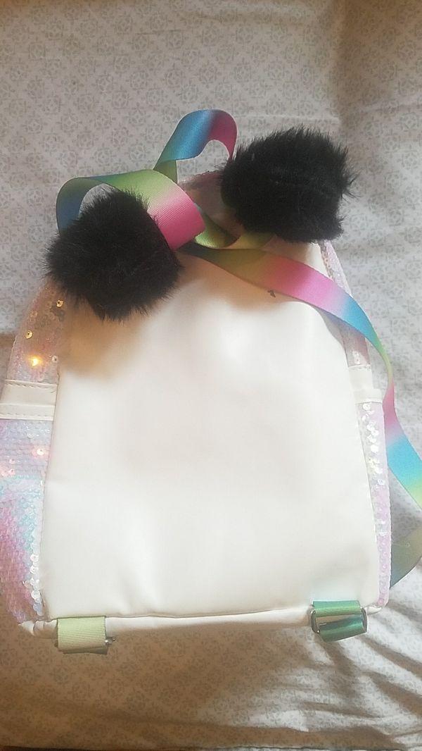 Panda Backpack w/ accessories