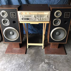 Vintage stereo system for Sale in Des Plaines, IL