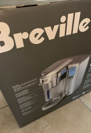 Breville stainless steel k-cup coffee machine brewer maker for Sale in Boynton Beach, FL