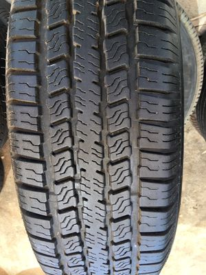 Single 225 75 15 Trailer Tires Excellent Condition Installation for Sale in Glendale, AZ