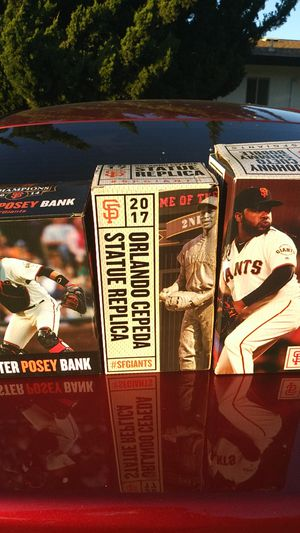 San Francisco Giants Bobbleheads for Sale in Suisun City, CA