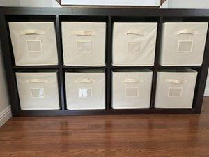 -6 drawer black/brown Dresser- $100 obo - 2 black nightstands- $60 each obo- 8 cube dark brown organizer- $100 obo Location- Hayward, CA for Sale in Hayward, CA