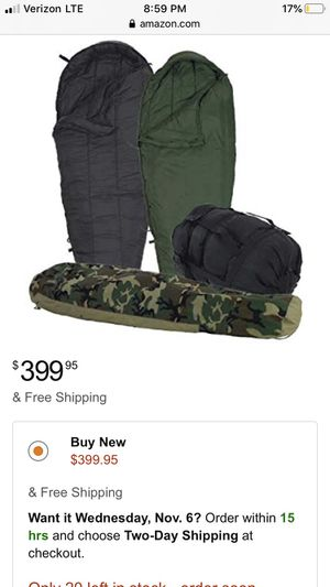 Military sleeping bag for Sale in Griffin, GA