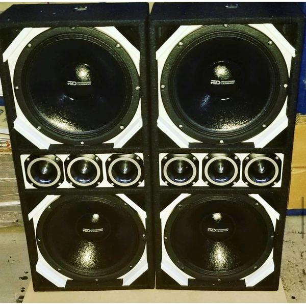 Chuchero box Sz 12 Pro Audio Full range competition