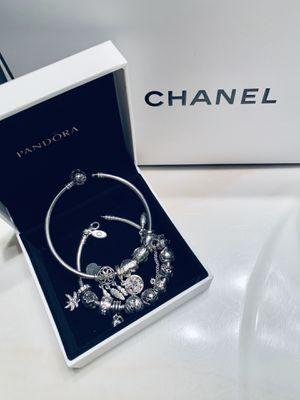 2 Pandora bracelets with 16 charms for Sale in Park Ridge, IL