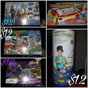 Kid toys/puzzles for Sale in Austin, TX