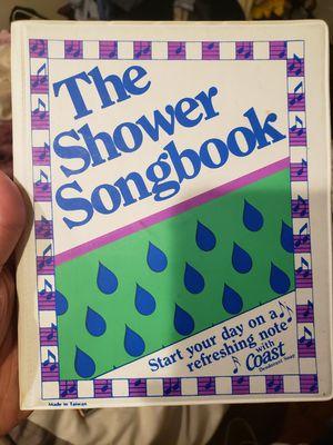 The Shower Songbook for Sale in Bridgeport, CT