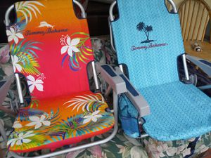 Tommy Bahama beach chairs like new for Sale in Oakland Park, FL