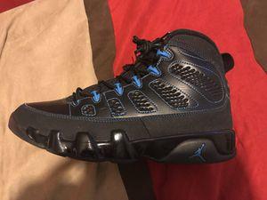 Air Jordan Retro 9 Photo Blue Black Bottom for Sale in Philadelphia, PA