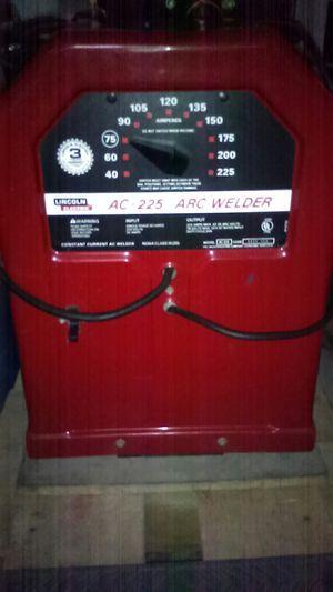 Ac-225 50 amp Lincoln welder for Sale in Turlock, CA