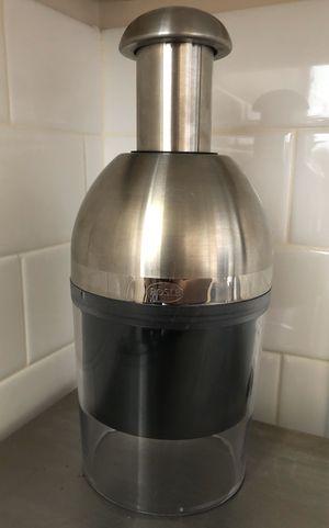 ROSLE Handheld Food Veggie Chopper Mincer Mixer Blender, Silver for Sale in Nashville, TN