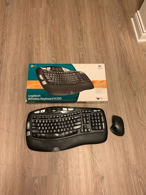 Logitech - K350 Wireless Keyboard & Wireless Performance XM Mouse for Sale in Laguna Beach, CA
