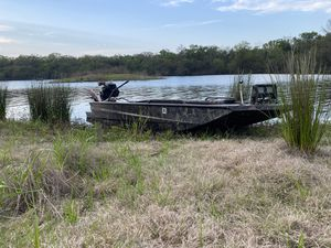 Duck hunting mud boat and fishing for Sale in Allen, TX