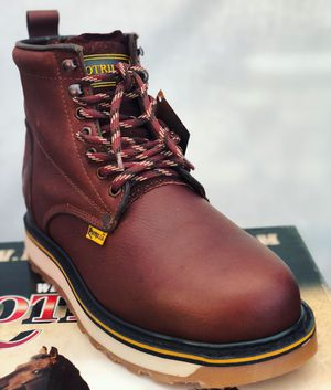 Lace up work boots for Sale in Loomis, CA