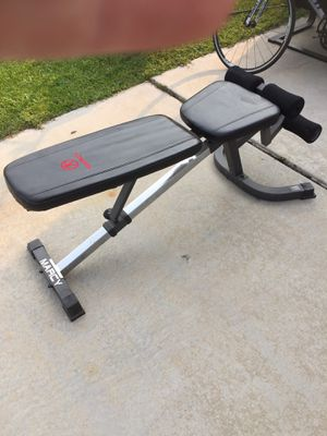 Marcy adjustable bench press for Sale in Salt Lake City, UT