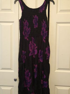 Aloha hut long floral dress one size. for Sale in Raeford, NC