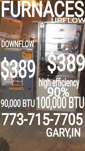 773-715-77O.FIVE GARY,IN HOT WATER HEATER ELECTRIC TANK WASHER DRYER STOVE FURNACE FRIDGE refrigerator BOILER downflow upflow 90% high efficiency for Sale in Chicago, IL