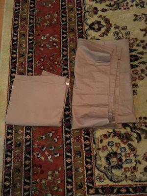 "Brown room darkening curtains (39"" W x 83""L) for Sale in Fort Hunt, VA"