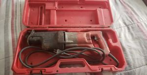 Milwaukee saw zall with case 65 obo for Sale in Fresno, CA