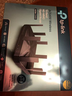 Powerful tri-band router TP-Link Archer C5400 for Sale in Webster, NY
