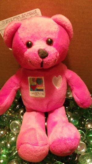 2002 Pink plush teddy bear for Sale in Hillsboro, OR